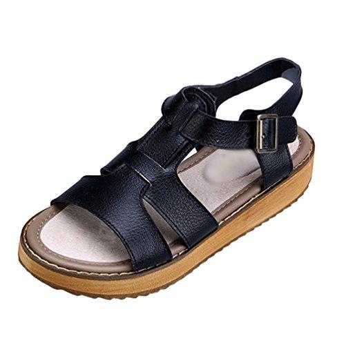 PDQ - Zapatos con tacón hombre , color marrón, talla 42.5