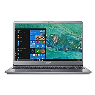 Acer Swift 3 SF315-52 Notebook - (Intel Core i3-8130U processor, 4GB RAM, 256GB SSD, 15.6 inch Full HD display, Windows 10, Silver)