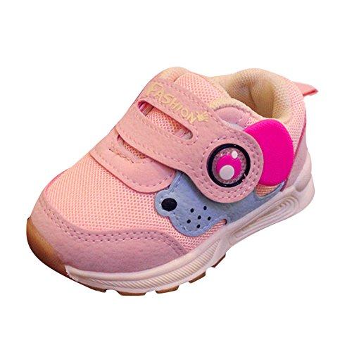 Quaan Kleinkind Kinder Sport Laufen Baby Schuhe Jungen Mädchen Mesh Weich Sohle, einzig Schuhe Turnschuhe Weich gemütlich warm sicher Hausschuhe Schuhe Zu Rennen Festival Turnschuhe (15-19)