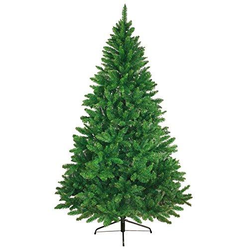 Albero di Natale artificiale WONDERLAND in 5 misure e 3 colori di BB Sport, Colore:verde medio; 210 cm (1.160 punte)