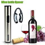 Rokoo Elektrische Wein Flaschenöffner Mit Folienschneider Edelstahl Cordless Vacuum Stopper Korkenzieher Bar Küche Werkzeuge