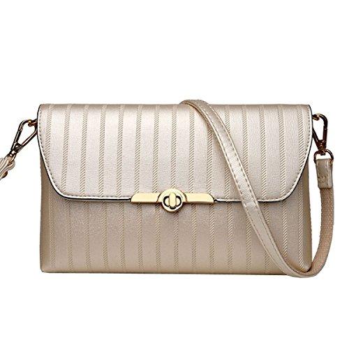 Damen Handtasche Pack Tasche Handtasche Umschlag Tasche Schulter Diagonale Paket,5-OneSize Laidaye