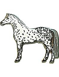 Azul Bug solapa Pin, diseño con escudo del - broche con forma de caballo, también Lanz-gris