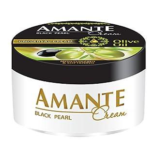 AMANTE Black Pearl - Luxuriöse Universalcreme für Gesicht & Körper - pflegend & revitalisierend - 200 ml - Olivenöl