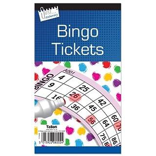 Atlona Tallon Games Jumbo Bingo Tickets