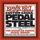 Ernie ball 2502 Jeu de 10 cordes pour Guitare électrique Pedal Steel E9