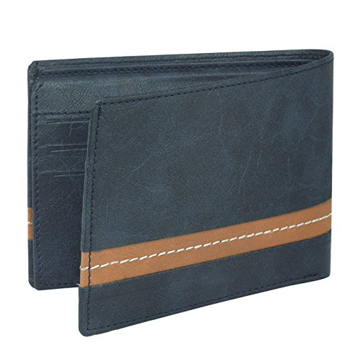 Laurels Falcon Black Men's Wallet
