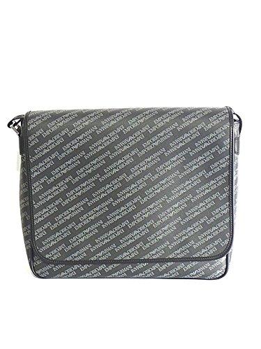 Print-laptop-tasche (Emporio Armani All Over Print Messenger Y4M182, schwarz)