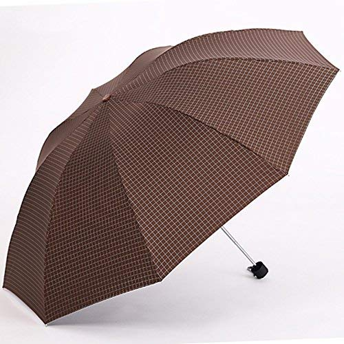 GONGFF Umbrella \u0026 Folding Shade Sonnenschutz Sonnenbrille verstärkt Sunny Rain Lattice Large Folding (Farbe: E)