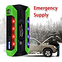 QUARK Power Bank 16800mah Portable Car Multifunktionale Jump Starter Emergency Power Supply for 12v Gasoline Diesel mit Werkzeugkasten