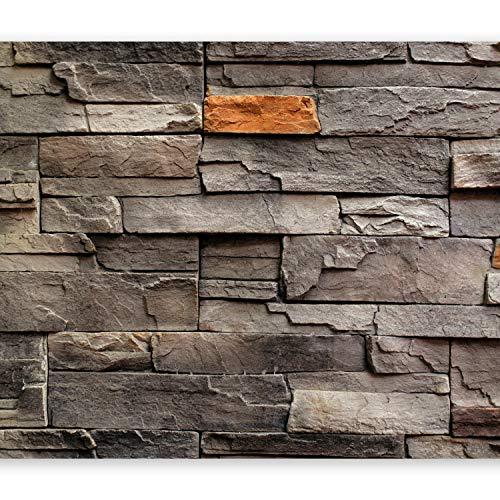 murando Fotomurales 400x280 cm XXL Papel pintado tejido no tejido Decoraci/ón de Pared decorativos Murales moderna de Diseno Fotogr/áfico de Piedras Ladrillo Concreto 3D f-B-0018-a-b
