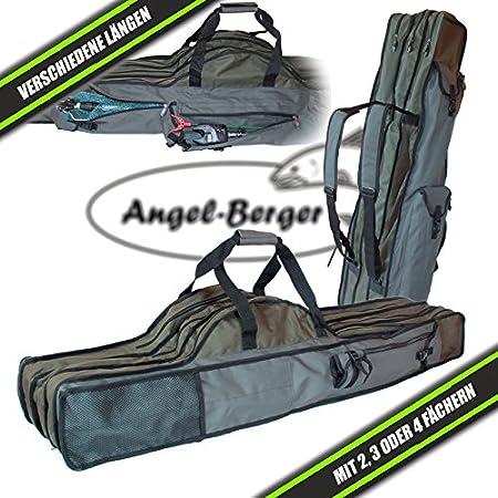 Angel-Berger Luxus Rutentasche Rutenfutteral viele Modelle verschiedene Längen