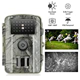Gosira Wildlife Motion Activated Camera 12MP 1080P 0.5s Trigger 940nm Updated Infrared LED