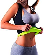 Sevia Slimming Hot T-Shirt Body Shaper Sweat Vest Women/Girls Exercise an Fitness Cloth -Large