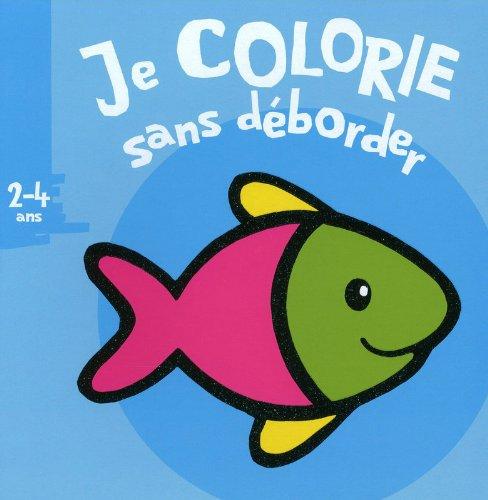 Je colorie sans déborder (2-4 ans) poisson