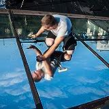 368° Inspiration Pellicola per finestre Pellicola for vetri Impermeabile Specchio unidirezionale Adesivi for Isolamento Argento Rifiuto UV Privacy Windom Tint Films Decorazione Domestica 2M * 50CM