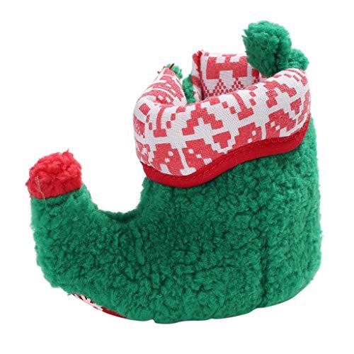 HDUFGJ Kinderschuhe Weihnachten Kleinkind Kind Baby Mädchen Jungen Winter Warme Schneeschuhe Bootie Schuhe Kurze Stiefel Kinderschuhe Fliegendes Weben Kinderschuhe Freizeitschuhe -