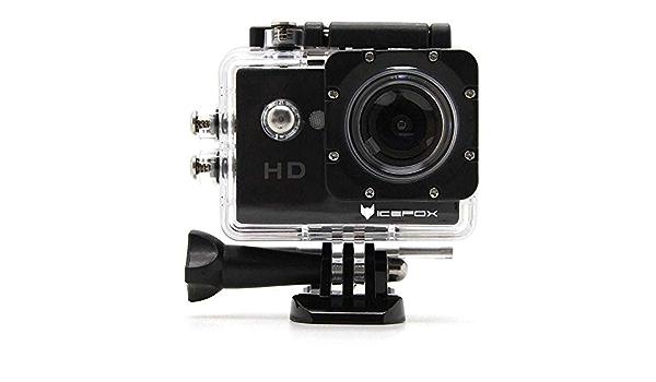 Icefox Action Cam Unterwasser 30m Sport Action Kamera 1080p Hd Aufnahme Für Tauchen Motorrad Surfen Bootfahren Und Skifahren Sport Freizeit