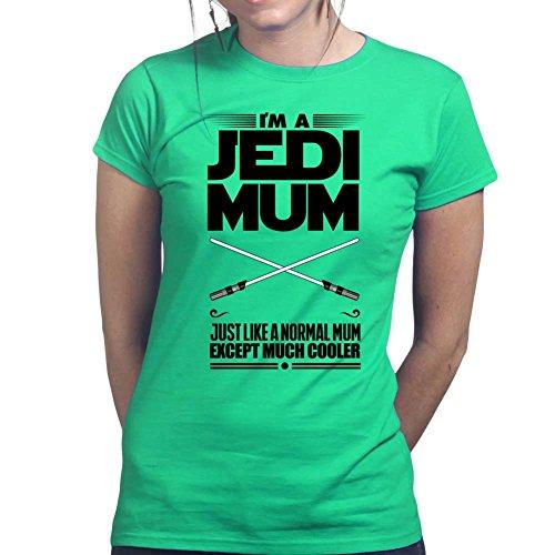 y Gift For Mom New Ladies T shirt (Grüne Jedi Kostüm)