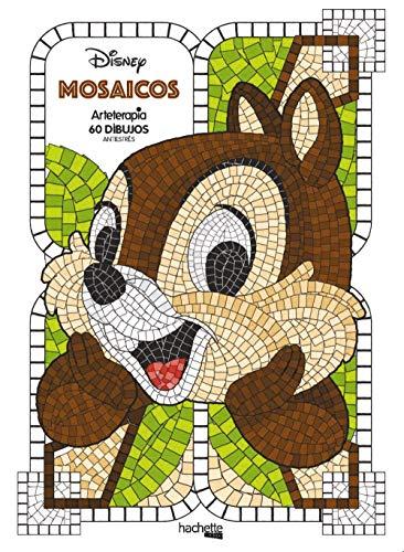 Mosaicos Disney (Hachette Heroes - Disney - Colorear)