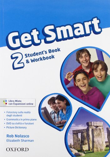 Get smart. Student's book-Workbook. Per la Scuola media. Con CD Audio. Con espansione online: 2