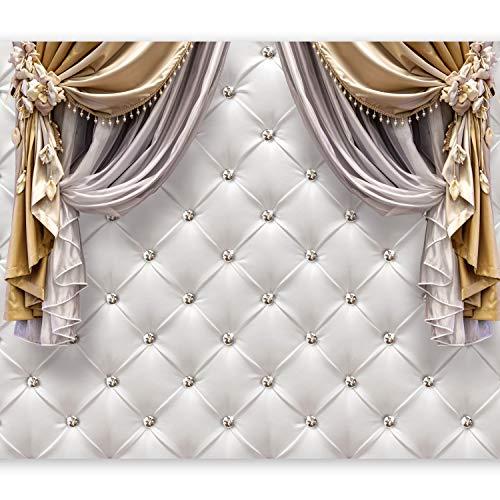 murando - Papier peint intissé - 400x280 cm - Papier peint - Tableaux muraux - Déco - XXL- diamant texture f-C-0086-a-a