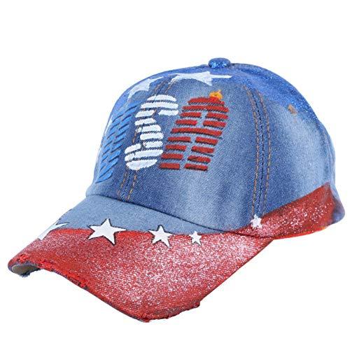 ENGXING Versione Coreana del Cappello da Cowboy di Moda Casual Cappello da Baseball di Tendenza Cappello da Baseball Modello Femminile Casual Americano
