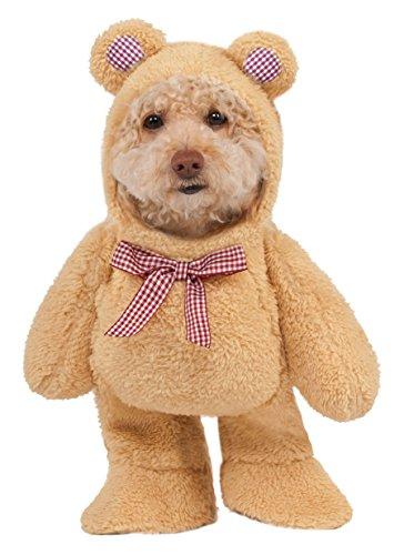 Rubie 's Walking Teddy Bär Pet Kostüm, Klein