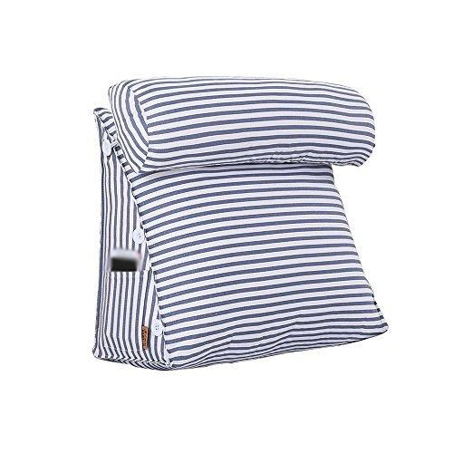 coussins pour Coussins De Chevet Triangulaires Coussins De Canapé En Toile Coussins, Coussins Réglables ( Couleur : # 2 , taille : 60 cm )