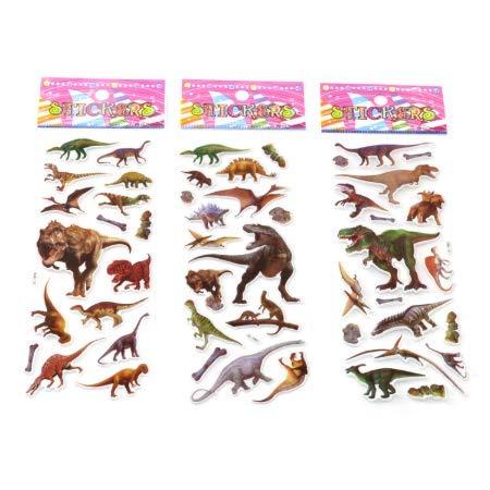 YLGG Dinosaurier Classic Toys sammelalbum Erdbeere für Kinder Kinder Geschenk belohnung Aufkleber 30 stück -