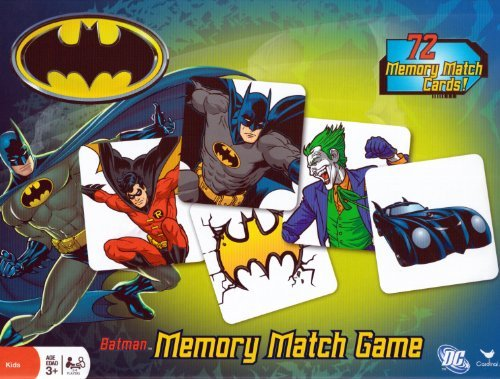 Memory-Match-Game-Batman