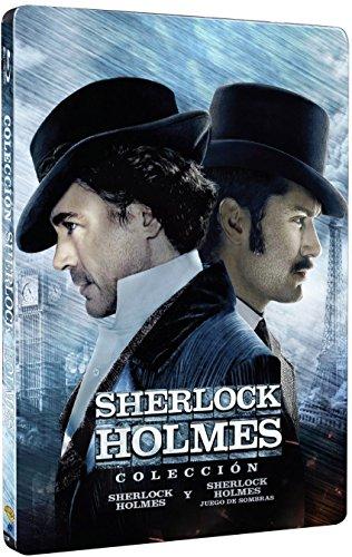 Sherlock Holmes Pack 1&2 - 2 Discos Steelbook [Blu-ray]