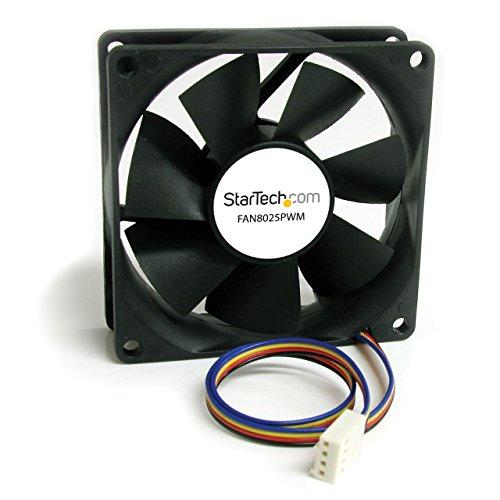StarTech.com 80x25mm Computer Gehäuselüfter/ PWM Cooling Fan - Lüfter für Computer Gehäuse mit 4-Pin Molex
