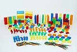 Tickit 73099primi anni colore risorsa set, 634pezzi, rosso, arancione, giallo, verde, blu, viola e trasparente