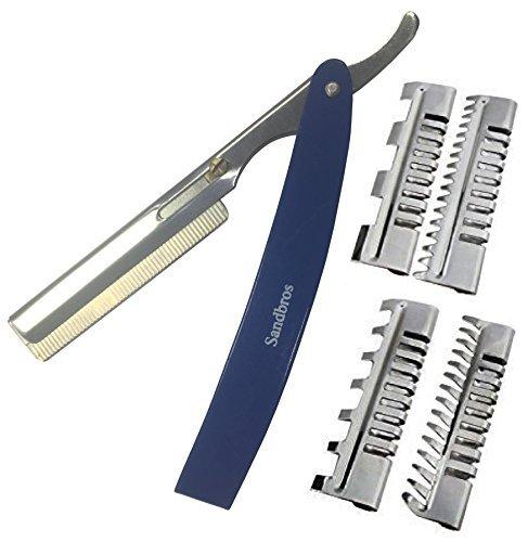 Cheveux Professionnel Shaper rasoirs Peigne style Salon de Coiffure Cheveux Effiler Outils (thr1 Lot)