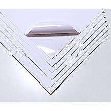 10hojas blanco impermeable A4vinilo adhesivo mate calidad láser imprimible