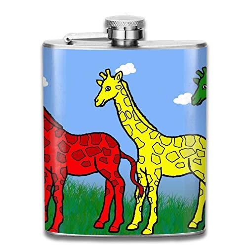 Stainless Steel Flask Ballon Panda Whiskey Flask Vodka Alcohol Flask Hip Flask for Men Unisex1 12 Oz Ballon