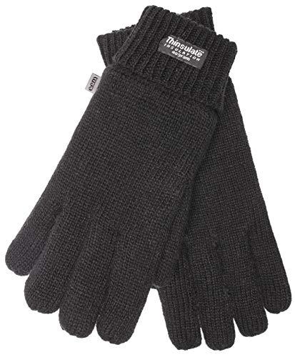 EEM Kinderhandschuhe MAX UND MORITZ mit Thinsulate Thermofutter, 100% Baumwolle; schwarz, Größe ()