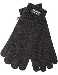 EEM Damen Strickhandschuh JETTE mit Thinsulate™ Thermofutter, warm, 100% Wolle oder 100% Baumwolle, das Material ist Farbabhängig, Winterhandschuh