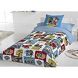 PAW PATROL - Funda nórdica Patrulla Canina cama 90 modelo 2