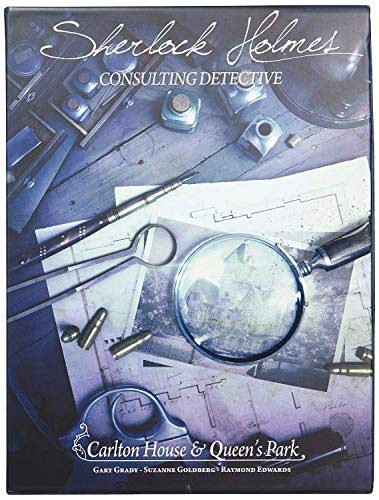 Space Cowboys ASMSCSHCQ01EN Carlton House & Queen's Park-Sherlock Holmes: Consulting Detective, Mehrfarbig