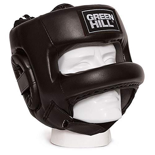 GREEN HILL - Casco de Boxeo - Modelo Castle - Unisex - Talla para Adulto, Unisex Adulto, HGC-9014, Negro...
