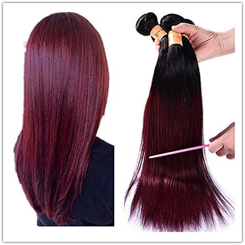 XQXHair 7A vergine peruviana dei capelli Ombre