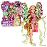 World of Winx - Dreamix Fairy Puppe - Fee Flora magisches Gewand