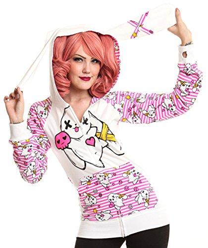 luv-bunnys-kawaii-hood-girls-hooded-zip-white-l