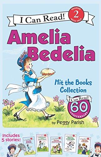 Preisvergleich Produktbild Amelia Bedelia I Can Read Box Set 1: Amelia Bedelia Hit the Books (I Can Read Level 2)