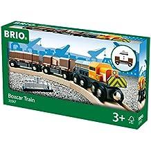 Brio - Tren con vagones de mercancías cubiertos (33567)