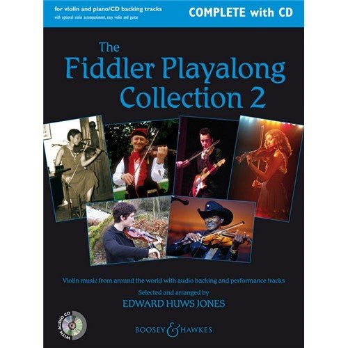 The Fiddler Playalong Collection 2 (Complete with CD), ed. Huws Jones