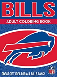 Bills Adult Coloring Book: A Colorful Way to Cheer on Your Team!: Volume 1 (Sports Team Adult Coloring Books)