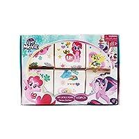 100pcs-BOX Little Pony Celestia Children Kids Temporary tattoo Sticker DIY Body Art Arm Flash Anime Movies Cartoon Animal tattoo Stickers Waterproof Styling Tatoo Sticker